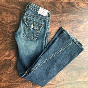 True Religion flare Joey jeans